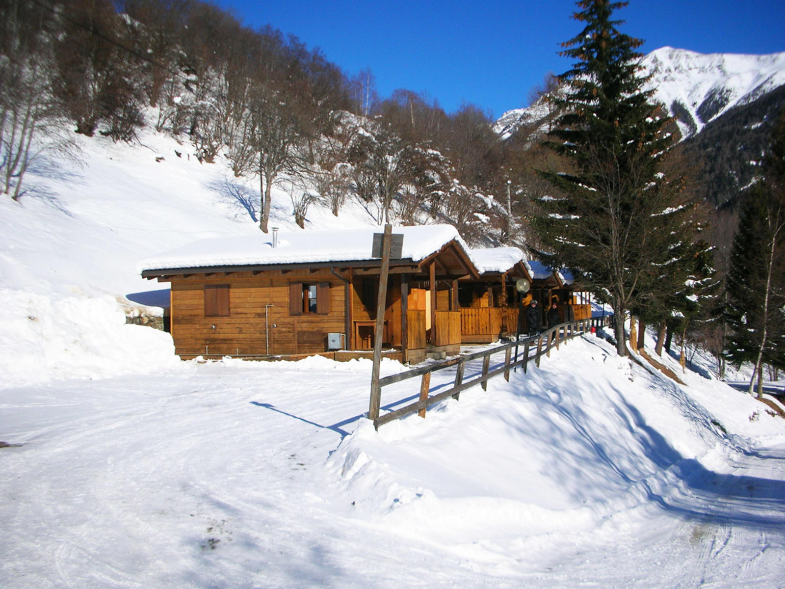 bungalow in inverno